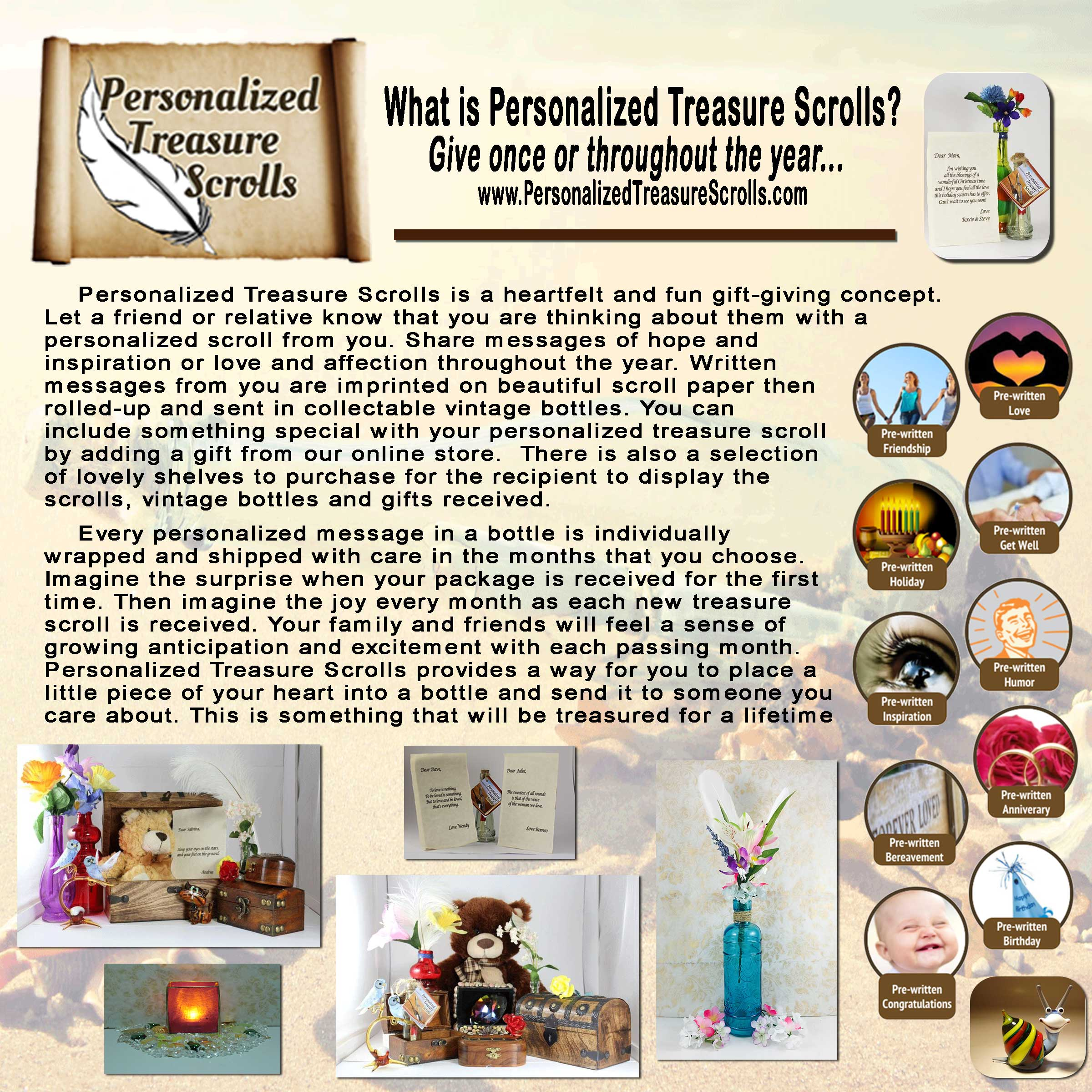 about personalized treasure scrolls